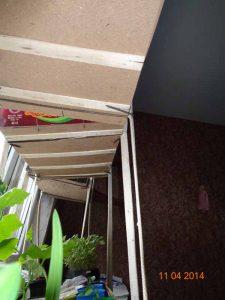 Конкурс - огород на подоконнике - вид снизу
