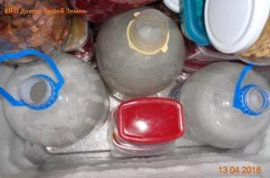 15 л. воды в морозилке