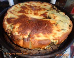 Пирог с зеленью 2