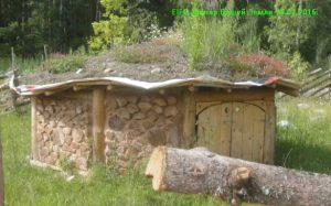 Домик для обитателей зоосада