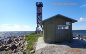 Домик и маяк