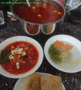 Борщ и суп
