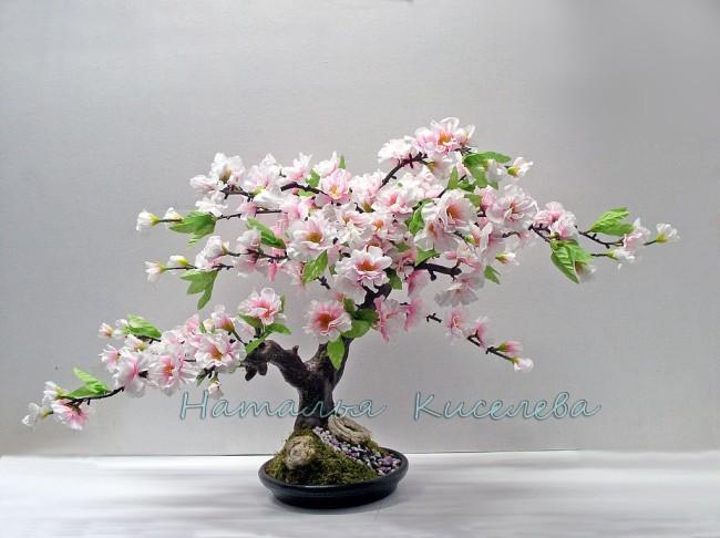 Искусственные деревья сакуры своими руками